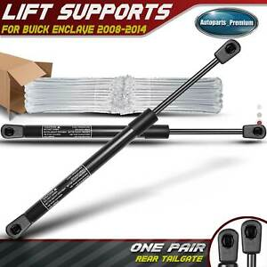 2x Tailgate Hatch Lift Supports Shocks For Buick Chevrolet Trailblazer 2008 2012