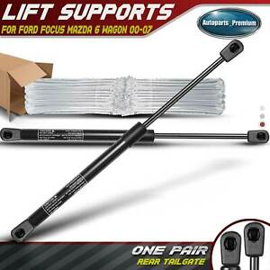 2x Tailgate Lift Supports Shock Struts For Ford Focus 00 2007 Mazda 6 Wagon 4358