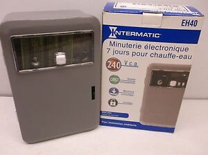 New Intermatic Eh40 Electronic Water Heater Timer b57