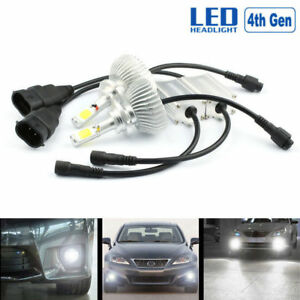 60w 6000lm 9005 9006 6000k Led Headlight 12v Car Upgrade Conversion Bulbs Kit