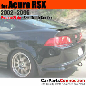 Painted Trunk Spoiler For 2002 2006 Acura Rsx Mounted Lip B92p Nighthawk Black