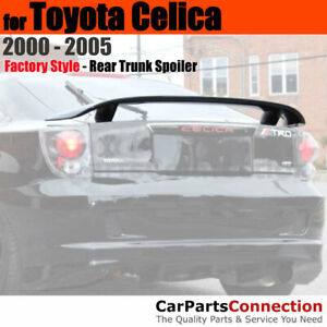 Primer Unpainted Abs Rear Trunk Aero Spoiler Wing For 2000 2005 Toyota Celica