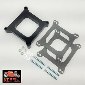 1 Open Center Phenolic Carburetor Spacer Chevy Ford Holley Carter Demon 350