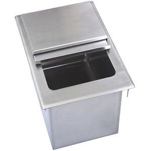 Drop In Ice Bin W Lid 22 X 18 Bbk dibl 2218