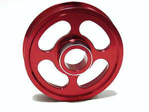 Obx Racing Crank Pulley For 02 06 Acura Rsx Type s Tsx K20 K24 Red