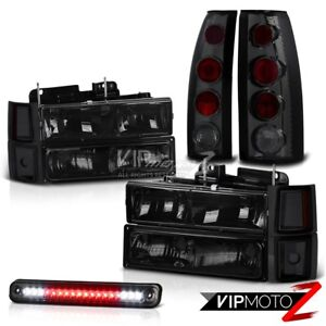 Led 3rd Brake Tail Light Side Marker Headlights Lamp 94 98 Chevy Silverado Tahoe