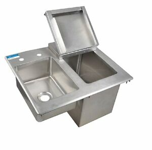 Drop In Ice Bin With Sink Faucet Bbk dibhl 2118 p g