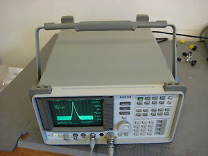 Hp Agilent 8563a Spectrum Analyzer 9 Khz To 26 Ghz Calibrated 3 5mm Sma Availabl
