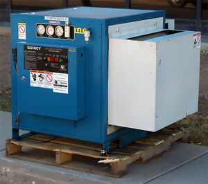 Coltec Quincy Qmbfaca32c 25hp Rotary Screw Type Air Compressor Qmb Faca 32c