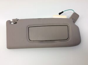 2008 2009 2010 2011 Volvo S40 V50 Right Sun Visor Passenger Sunvisor Grey