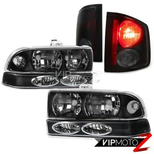 Coolest Chevy S10 Pickup Black Front Bumper Parking Headlights Lamp Tail Light