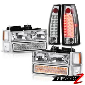 Chevrolet C1500 C2500 C3500 Suburban Silverado New Led Bulb Tail Light Headlight