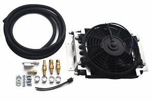 Remote Transmission Fluid Cooler W 10 Electric Fan 6 An Fittings
