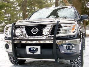 2005 2008 Guard Fits Nissan Frontier Grill Brush Guard Stainless Steel