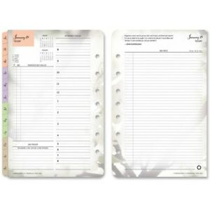 2017 Franklin Covey Dailey Planner Page Refill