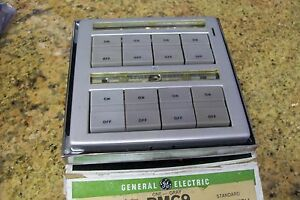 Ge Remote Control Master Switch Rmc9 Switches Included Used With Rr7 Systems