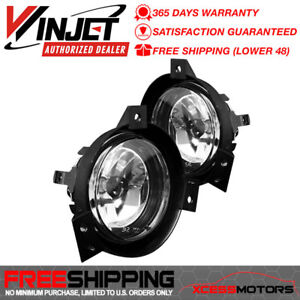 Fits Winjet 01 03 Ford Ranger Oe Fog Lights Lamps Pair Left Right Clear
