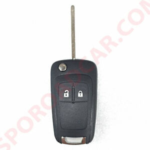 Door Remote Control Folding Key For Gm Chevrolet Trax 2013 Oem Parts