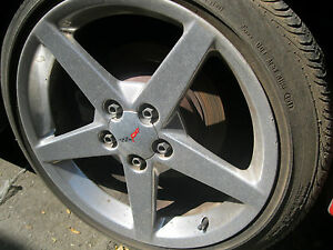 Corvette Camaro Ss Trans Am Wheels 18 s And 19 s No Tires 1 Wheel Has A Bend