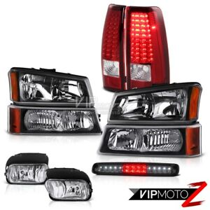 03 06 Chevy Silverado Fog Lamps Signal Light Roof Cab Headlights Red Tail Lights