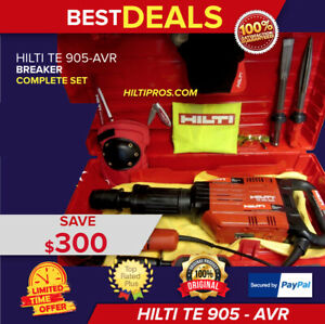 Hilti Te 905 avr Breaker Hammer Great Condition Angle Grinder fast Ship