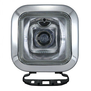 Piaa 410 Series Intense White Driving Lamp Single Square Light Enclosure 4102