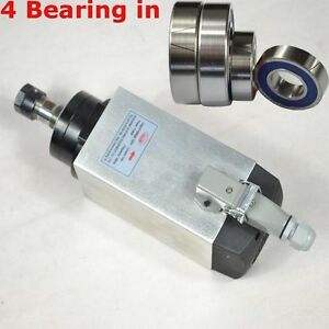 3kw Air cooled Spindle Motor Engraving Milling Grind Four Bearing