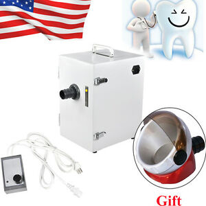 Dental Digital Single row Dust Collector Collecting Vacuum Cleaner Lab Equipment