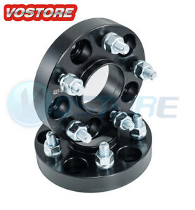 2 1 5 Lug Hubcentric Black Wheel Spacers Adapter 5x4 5 For Nissan Infiniti