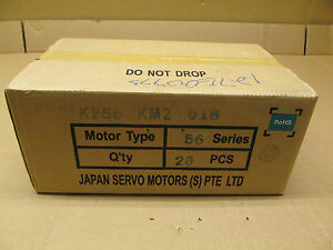 20 Nib Japan Servo Kp56km2 018 Stepping Motor 9vdc 1 8 Deg step Case Of 20