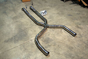 1998 2002 Camaro Trans Am Z28 Stainless True Duals 3 X Pipe Bullet Mufflers