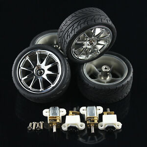 4x Smart Robot Car Kit N20 Motor Wheels For Diy 3v 250rpm 6v 500rpm_kd113 4x