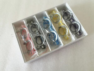 New 5 Pcs Color Optical Lens Trial Frame Eyeglass Optometry Tf a