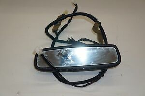 2006 2009 Nissan 350z Convertible Interior Rear View Mirror Assembly Oem