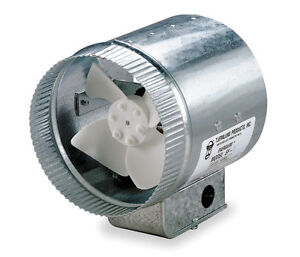 Tjernlund 8 Round In line Air Duct Booster Fan 120 Volt Ef 8