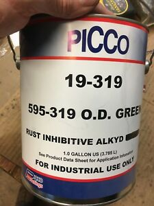 Paint Olive Drab Flat One Gallon 319 Wwii Army Vehicles G503 G502 G200 G104