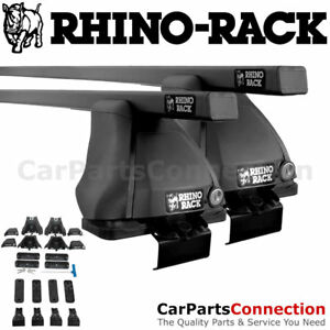 Rhino Rack Jb0510 Euro 2500 Black Roof Crossbar Kit For Mazda 3 Sedan 04 09