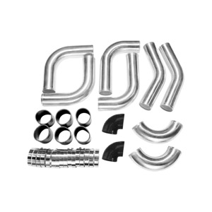 Cxracing Universal 3 Od Intercooler Piping Kit For Civic Integra B16 black Hose