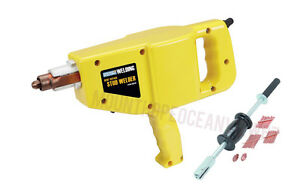 Stud Gun Welder Auto Body Repair Tools Dent Ding Puller Kit W 2 Lb Slide Hammer