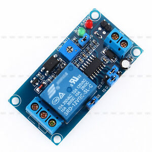 1pcs 12vdc Adjustable Timing Delay Relay Turn Off Switch Module With Timer