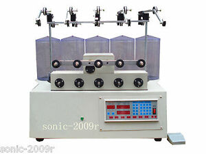 5 Reels Computer Cnc Automatic Coils Winder Winding Machine For Transfomer Us1
