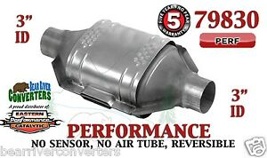 79830 Eastern Performance Universal Catalytic Converter 3 Pipe 12 Body