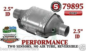 79895 Eastern Performance Universal Catalytic Converter 2 5 Pipe 12 Body