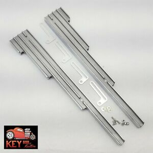 Polished Finned Aluminum Wire Loom Holders Small Block Chevy Sbc 350 400 327 305