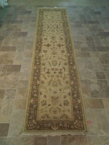 Handmade Perfect Condition Oriental Rug 2 6 X 10 Chobi Vegetable Dyed Runner