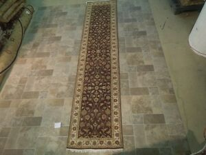 Brown Excellent Runner Quality Handmade Rug 2 6x12 Chobi Vegetable Dyed Rug