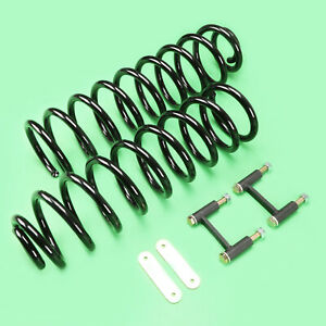 2007 2017 Jeep Wrangler Jk Rear Springs 3 Lift Kit W Basic Accessories
