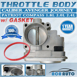 Throttle Body For Jeep Chrysler Dodge 200 2 0l 2 4l Compass Caliber 04891735ac