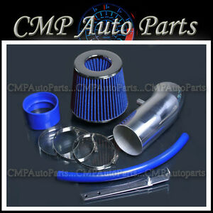 Blue 2011 2016 Dodge Charger Challenger 6 4 6 4l Hemi Srt8 Air Intake Kit
