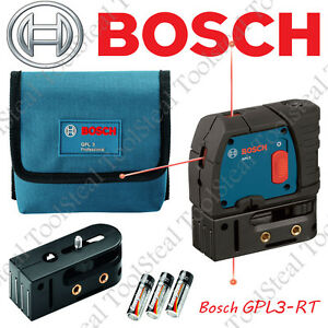 Bosch Gpl3 3 point Self leveling Alignment Laser Gpl3 rt Recon W warranty